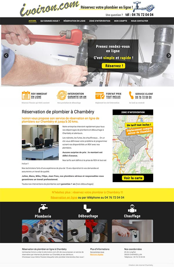 Plombier à Chambéry